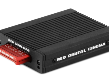 Rent: RED MINI-MAG - 1TB W/ CARD READER