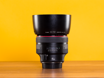 Rent: Canon 85mm f/1.2L II USM