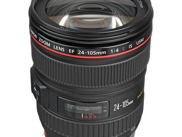 Rent: Canon EF 24-105mmf/4L IS USM Autofocus Lens