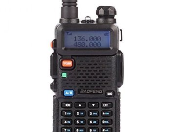 Rent: Baofeng Two Way Radio