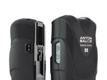 Rent: 2 - Battery Kit Anton Bauer Digital 90 V-Mount Battery