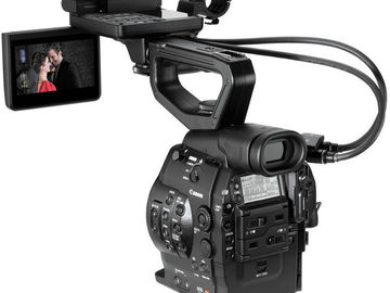 Rent: Canon Cinema EOS EF-Mount C300 Dual-Pixel Upgrade Camera Kit
