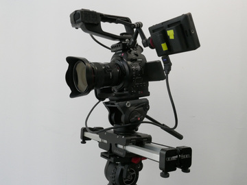 Rent: C100 with Lens Kit & Slider