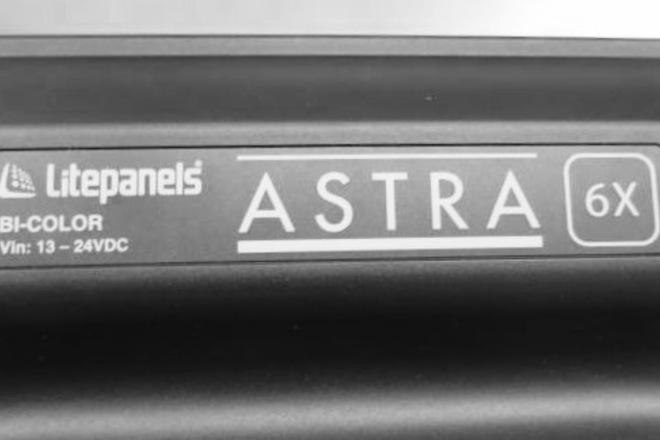 2-  6X Astra litepanels