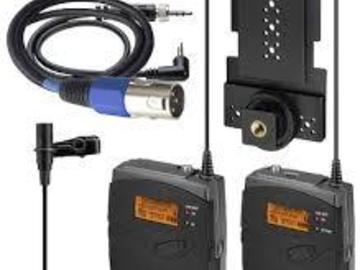 Rent: 2 x Sennheiser Wireless Lav mic