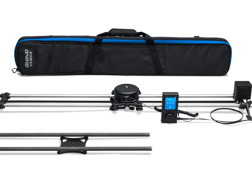 Rent: Rhino Camera Gear Slider with Controller and 2 Rail Sets