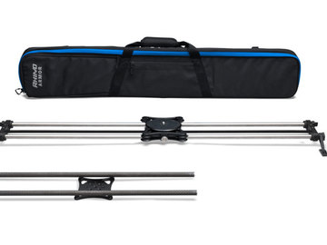 Rent: Rhino Camera Gear Slider with 2 Rail Sets (No Motion Kit)