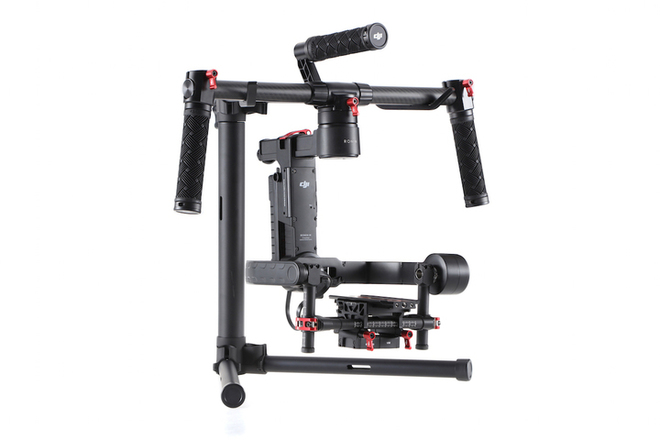 DJI Ronin-M Handheld Gimbal Stabilizer w/ Extension Rods