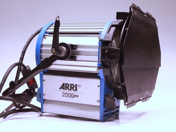 Rent: Two ARRI T2 2000W Fresnel Lights with Baby Stands