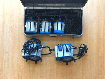 Rent: Arri Tungsten Lighting Kit! (1k's and 2k's)