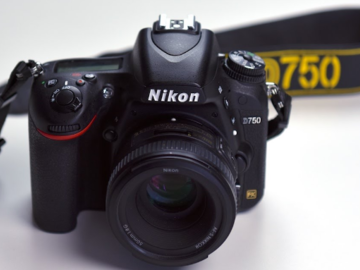 Rent: Nikon D750 plus 3 lenses