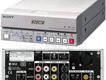 Rent: Sony DVCAM Digital Video Cassette REcorder DSR-11