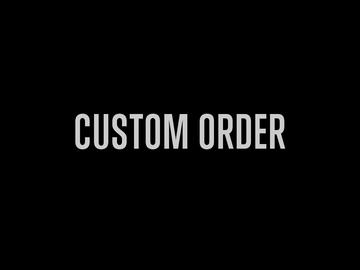 Rent: Custom Gavin Order