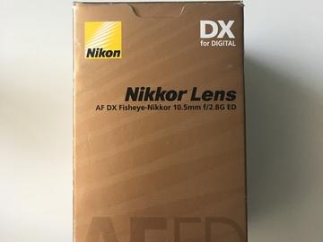 Rent: Nikon AF DX Nikkor 10.5mm f/2.8G ED Fisheye