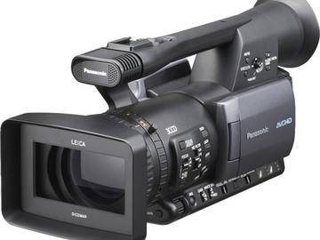 Rent: 2 Panasonic HMC 150 CAMERAS, 2 Sennheiser lavs