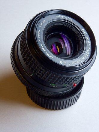 Minolta 28mm f2.8 ROKKOR-X