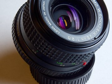 Rent: Minolta 28mm f2.8 ROKKOR-X