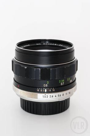 Minolta 58mm f1.4 MC ROKKOR-PF