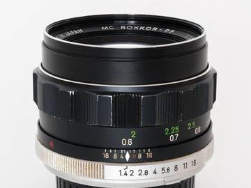 Rent: Minolta 58mm f1.4 MC ROKKOR-PF