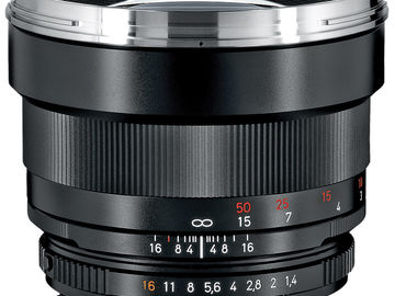 Rent: Zeiss Planar T* 85mm f/1.4 ZF.2