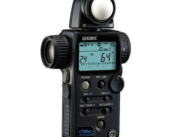 Rent: Sekonic L-758C Cine Digitalmaster Light Meter