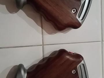 Rent: Tilta Wooden Handles w/ Arri Rosettes