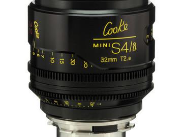 Rent: Cooke Mini S4/i 32mm T2.8