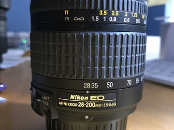 Rent: Nikon AF Zoom-Nikkor 28-200mm f/3.5-5.6G IF-ED