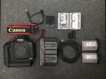 Rent: Canon 1D X Mark II Camera Kit with Media