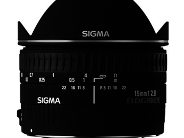 Rent: Sigma 15mm f/2.8 EX DG Diagonal Fisheye Lens for Canon