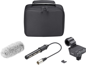 Rent: Sony XLR-K2M XLR Adaptor Kit with shotgun microphone