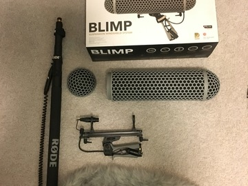 Rent: Rode Blimp Windshield and Boompole kit