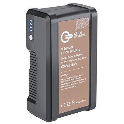 Green Extreme V-Mount Battery #1 (162 WattHr Li-Ion)