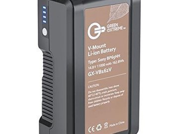Rent: Green Extreme V-Mount Battery (162 WattHr Li-Ion)