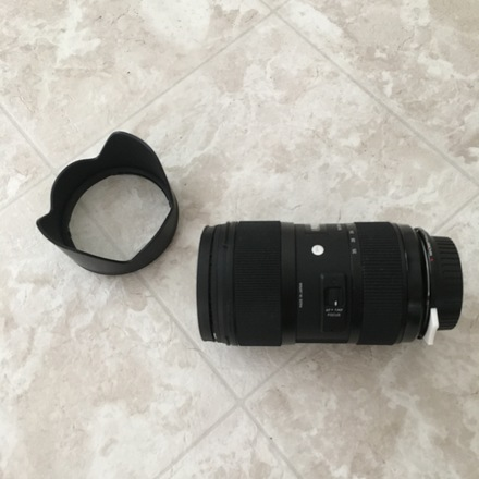 Sigma 18-35mm f/1.8 DC HSM Art NIKON/CANON MOUNT