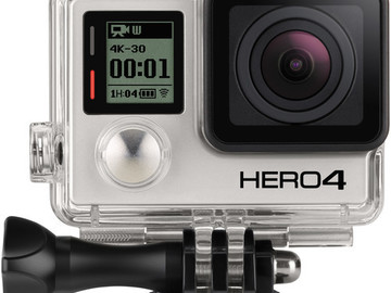 Rent: GoPro Hero4 Black with two 64BG micro SD cards, two batterie