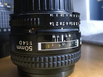 Rent: Nikon AF Nikkor 50mm f/1.4D