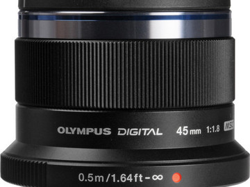 Rent: Olympus Zuiko 45mm f1.8 Lens