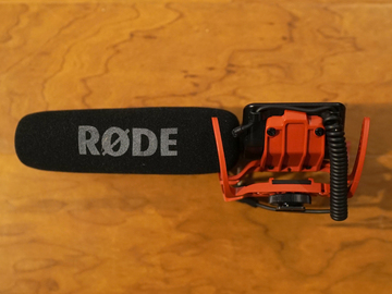 Rent: Rode VideoMic On-Camera Shotgun Microphone
