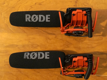 Rent: 2 Rode VideoMic On-Camera Shotgun Microphones