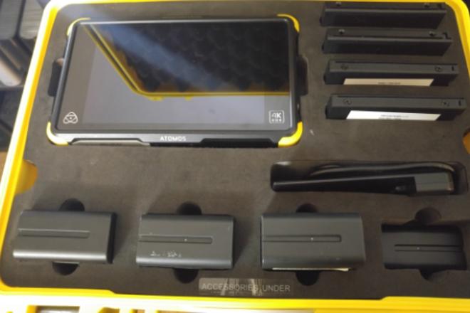 Atomos Shogun Flame 7-in 4K Recorder w/ extra memory and bat