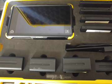 Rent: Atomos Shogun Flame 7-in 4K Recorder w/ extra memory and bat