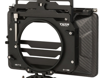 Rent: Tilta MB-T12 Matte Box (3-stage, 4x5.6, Clamp-on + 15mm LWS)