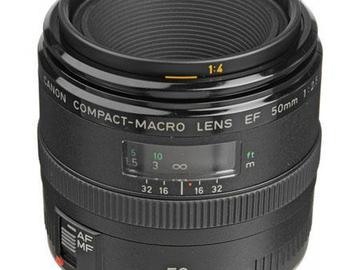 Rent: Canon EF 50mm f/2.5 Macro