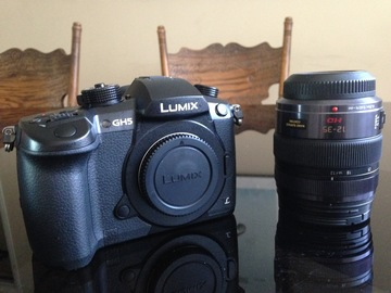 Rent: Panasonic GH5 w/ 12-35mm Lens & Accessories