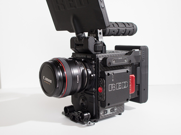 Rent: RED Weapon Helium 8K S35 (Carbon Fiber) Stealth