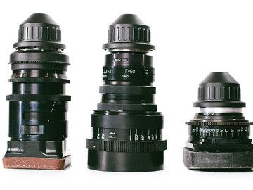 Lomo Square/Round Front Anamorphic Prime Lens Set + MatteBox