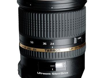 Rent: Tamron SP 24-70mm f/2.8 DI VC USD (Nikon)