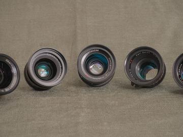 "Rent: Zeiss ""B-Speed"" Super Speed Lens Set"