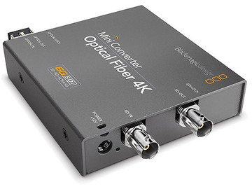Rent: Blackmagic Design Mini Converter Optical Fiber 4K - Pair